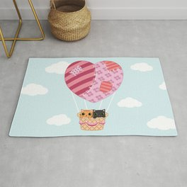 Kitty love Rug