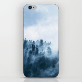 The Wilderness, Foggy Forest iPhone Skin
