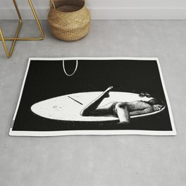 asc 927 - L'homme aux chaussures bicolores (In the limelight) Rug