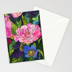 French Lavender & Roses Stationery Cards