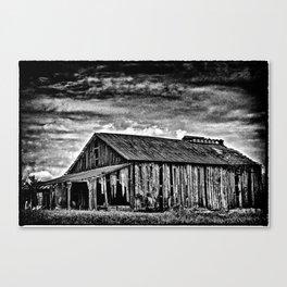 A Dark Barn Canvas Print
