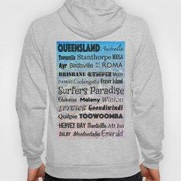 Queensland Poster Hoody