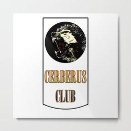 Cerberus Club - 3rd Head Metal Print