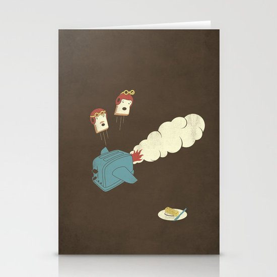 Eject! Stationery Cards