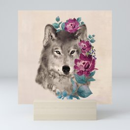 Gently Ferocious Mini Art Print