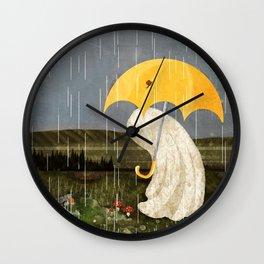 Making Friends Wall Clock