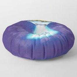 UFO Spaghetti Dreams Floor Pillow