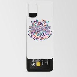 Colorful Fly Android Card Case