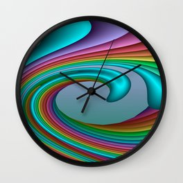 3D for duffle bags and more -32- Wall Clock