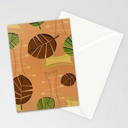 Tiki Bar Wallpaper Pattern Stationery Cards