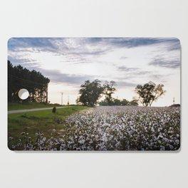 Cotton Field 9 Cutting Board