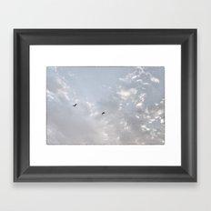 Together Higher Framed Art Print
