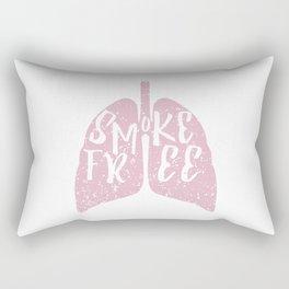Smoke Free Rectangular Pillow