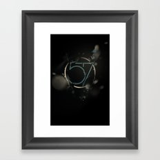 57 Framed Art Print
