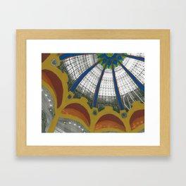 Galeries Lafayette Framed Art Print