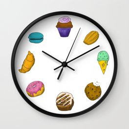Snack o'clock Wall Clock