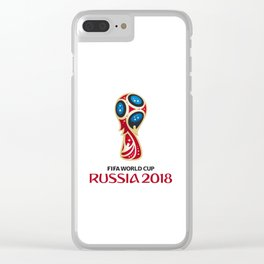 Logo WorldCup Russia 2018 Clear iPhone Case