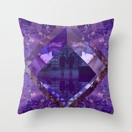 Love Lost City Throw Pillow
