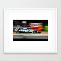 formula 1 Framed Art Prints featuring Formula 1 by Srdjan Petrovic