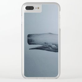 Whale 1 Clear iPhone Case