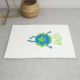 Love Your Mother - Earth Day Rug