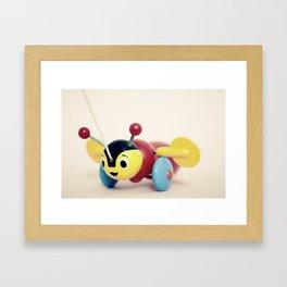 Buzzy Bee Framed Art Print