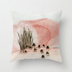 something new was discovered. Throw Pillow