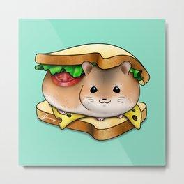 HamHam Sandwich Metal Print