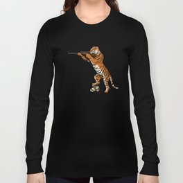 The Hunted becomes the Hunter Long Sleeve T-shirt