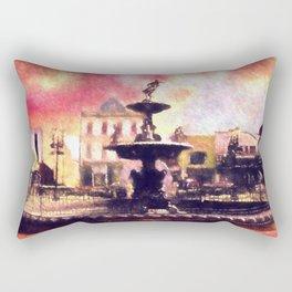Fountain Square Park Rectangular Pillow