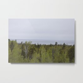 Scenic route Metal Print