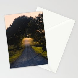 Best Farm Tree Sunset 2 Stationery Cards