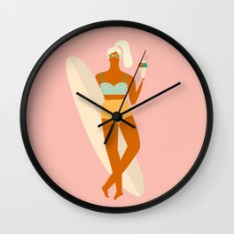 Vanilla Ice-cream Wall Clock