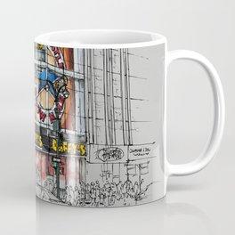 Daffys New York City Yellow Cab original sketch Coffee Mug