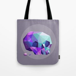 crystal skull Tote Bag