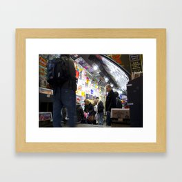 Camden Lock,London Framed Art Print
