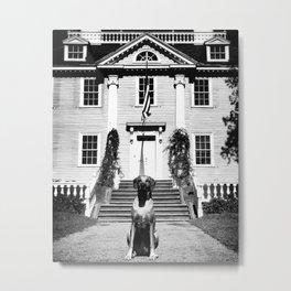 Longfellow House Metal Print