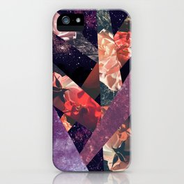 ROSES IN THE GALAXY iPhone Case