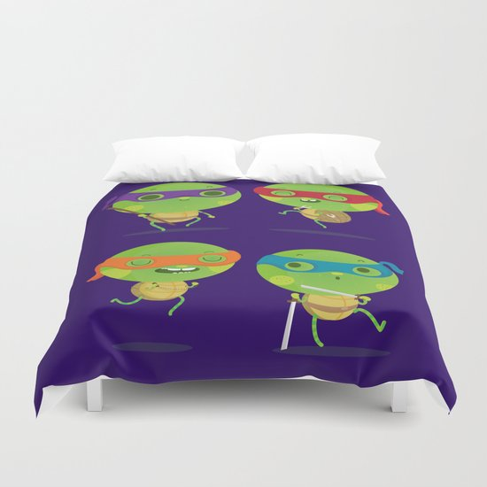 Turtles Duvet Cover