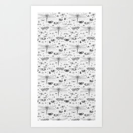 Braf insects Art Print