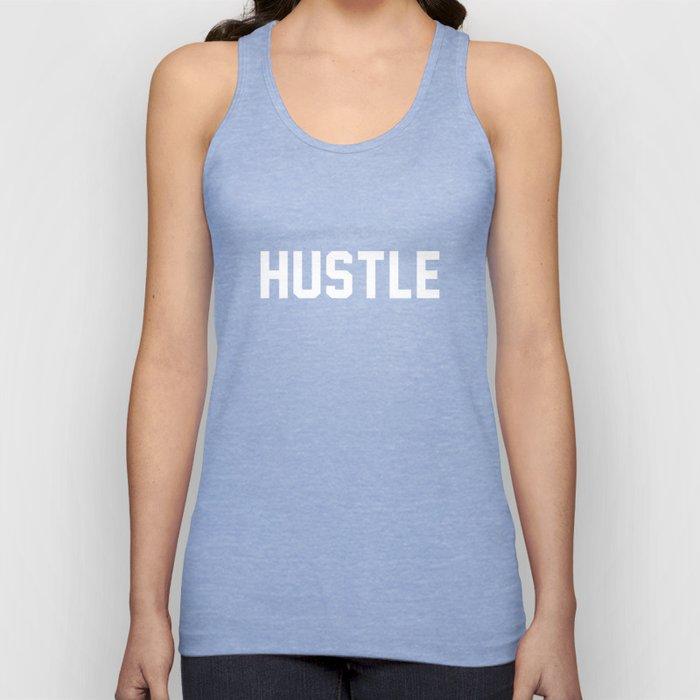 Hustle - dark version Unisex Tank Top