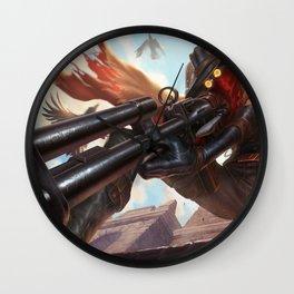 High Noon Jhin League Of Legends Wall Clock