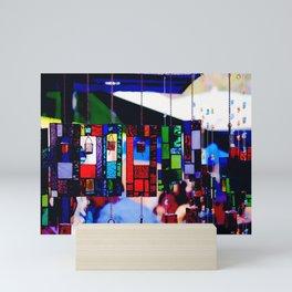 Glass Wind Chimes Mini Art Print