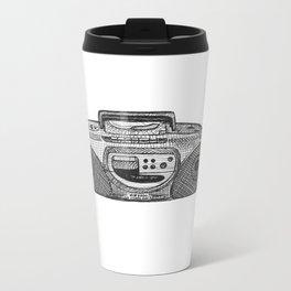 Radio Metal Travel Mug