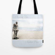 Crosby Beach Man  Tote Bag