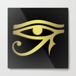 Eye of horus Egyptian symbol Metal Print