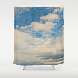 Clouds in the Sky Shower Curtain