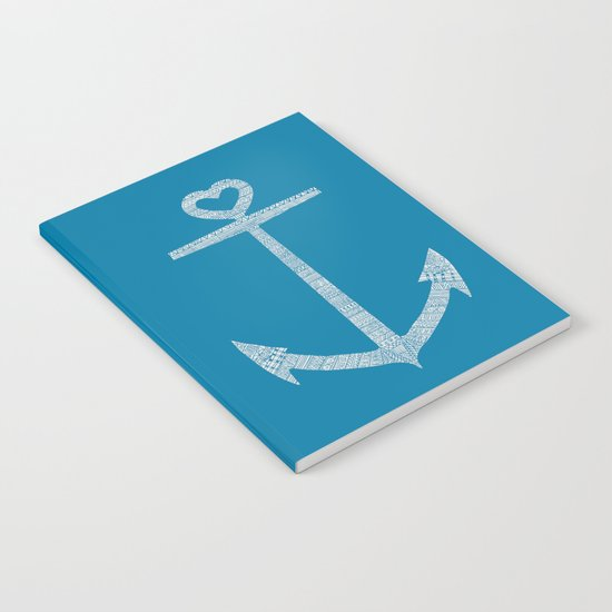 Love is the anchor Notebook