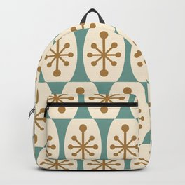 Mid Century Modern Atomic Fusion Pattern 101 Backpack