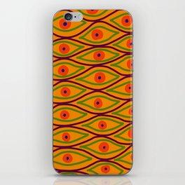 Their Eyes - Yellowed Orange iPhone Skin
